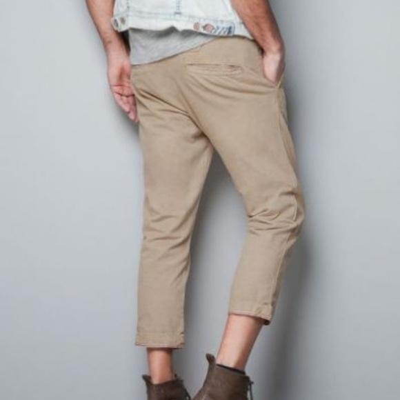 3f53c6cd Zara Pants | New Man Cropped | Poshmark